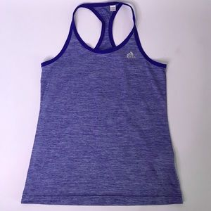 Adidas Blue Climalite Tank Top, Small